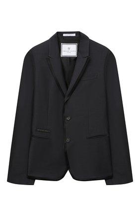 Детский костюм PHILIPP PLEIN серого цвета, арт. F20C BRF0105 PTE003N | Фото 2