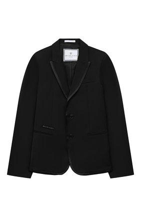 Детский костюм PHILIPP PLEIN черного цвета, арт. F20C BRF0105 PTE003N | Фото 2