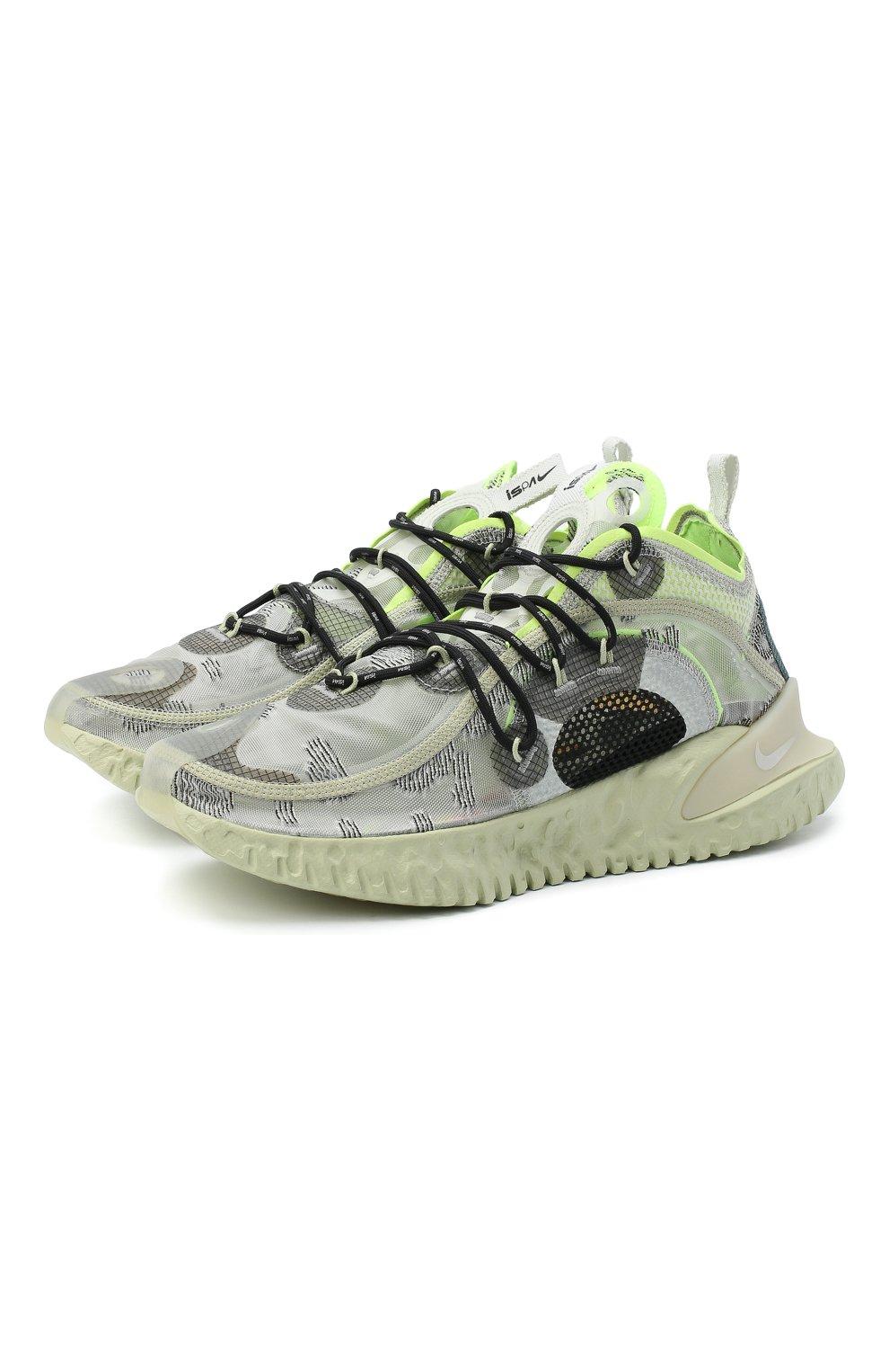 Мужские кроссовки ispa flow 2020 se NIKELAB светло-серого цвета, арт. CI1474-001   Фото 1
