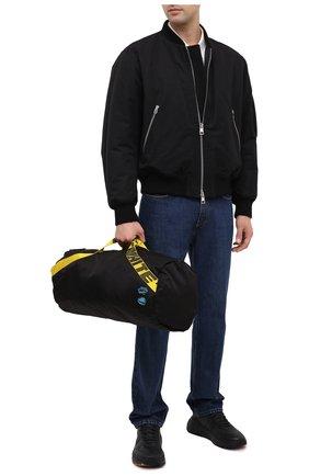 Мужская текстильная спортивная сумка OFF-WHITE черного цвета, арт. 0MNA108E20FAB0011000 | Фото 2