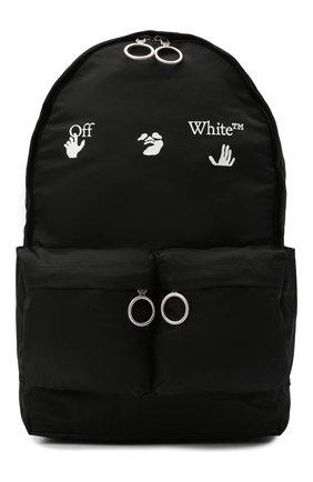 Мужской текстильный рюкзак OFF-WHITE черного цвета, арт. 0MNB003E20FAB0011001 | Фото 1