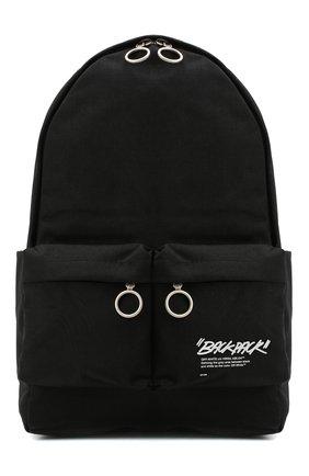 Мужской текстильный рюкзак OFF-WHITE черного цвета, арт. 0MNB003E20FAB0041001 | Фото 1