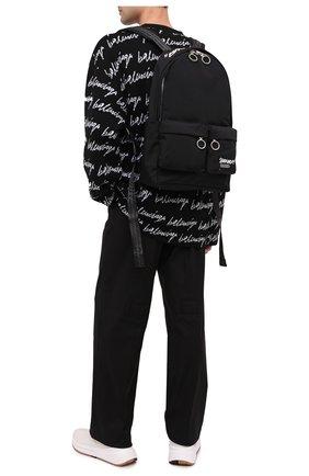 Мужской текстильный рюкзак OFF-WHITE черного цвета, арт. 0MNB003E20FAB0041001 | Фото 2
