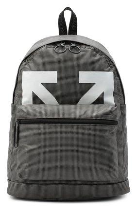 Мужской рюкзак OFF-WHITE серого цвета, арт. 0MNB029E20PLA0011001 | Фото 1