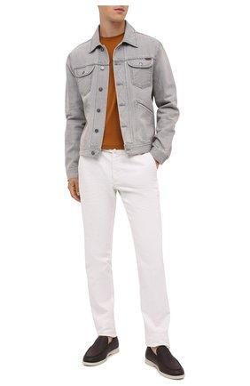 Мужская джинсовая куртка TOM FORD светло-серого цвета, арт. BVJ26/TFD116 | Фото 2