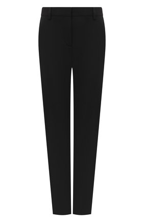 Женские шерстяные брюки VERSACE черного цвета, арт. A86445/A226027 | Фото 1