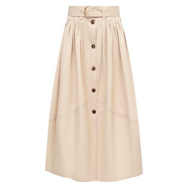 Хлопковая юбка Chloé