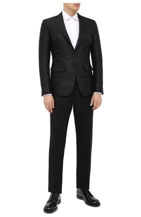 Мужской пиджак DSQUARED2 черного цвета, арт. S74BN1014/S53138 | Фото 2