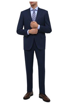 Мужская хлопковая сорочка VAN LAACK голубого цвета, арт. RIVARA-LTFN/150130 | Фото 2