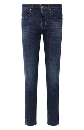 Мужские джинсы DON THE FULLER темно-синего цвета, арт. DHW0/NEW Y0RK/DTF/G0 | Фото 1