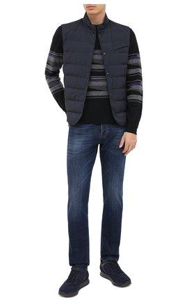 Мужские джинсы DON THE FULLER темно-синего цвета, арт. DHW0/NEW Y0RK/DTF/G0 | Фото 2