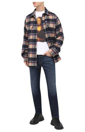 Мужские джинсы DIESEL темно-синего цвета, арт. A00895/009HN | Фото 2