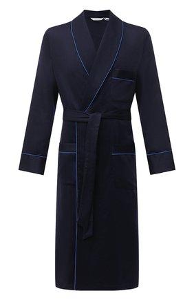 Мужской кашемировый халат ROBERTO RICETTI синего цвета, арт. VESTAGLIA R0BE/EX-CASH2301 | Фото 1