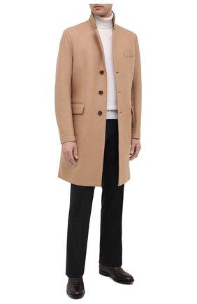 Мужские кожаные лоферы ALDO BRUE темно-коричневого цвета, арт. AB4039.CM.P.BU | Фото 2