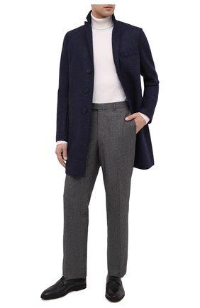 Мужской кожаные дерби ALDO BRUE черного цвета, арт. AB8605K-NCM.L.A99T   Фото 2