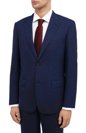 Мужской шерстяной костюм BRIONI темно-синего цвета, арт. RAH00P/09A69/PARLAMENT0 | Фото 2