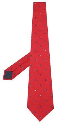 Мужской шелковый галстук BRIONI красного цвета, арт. 062H00/09484 | Фото 2