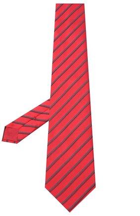 Мужской шелковый галстук BRIONI красного цвета, арт. 062H00/09470 | Фото 2