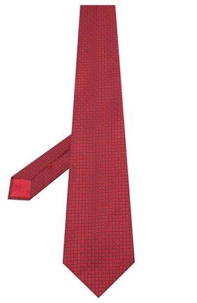 Мужской шелковый галстук BRIONI красного цвета, арт. 062H00/09457 | Фото 2