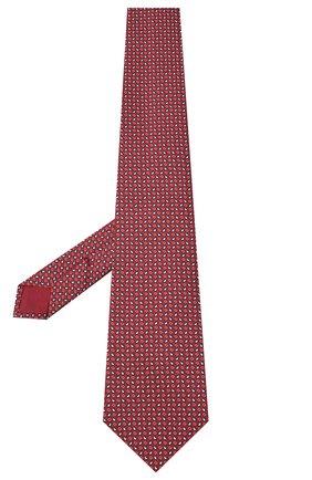 Мужской шелковый галстук BRIONI красного цвета, арт. 062H00/09450 | Фото 2