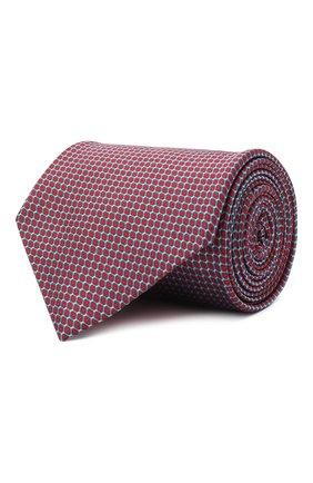 Мужской шелковый галстук BRIONI красного цвета, арт. 062H00/0943U | Фото 1