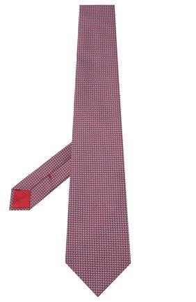 Мужской шелковый галстук BRIONI красного цвета, арт. 062H00/0943U | Фото 2