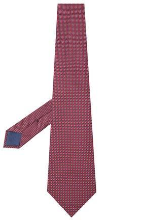 Мужской шелковый галстук BRIONI красного цвета, арт. 062H00/0943T | Фото 2