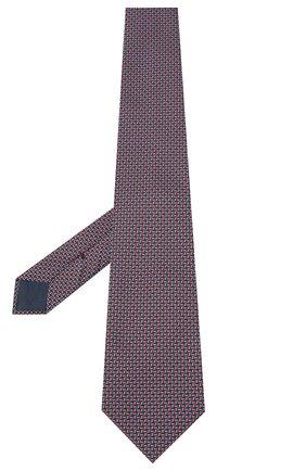 Мужской шелковый галстук BRIONI красного цвета, арт. 062H00/09439 | Фото 2