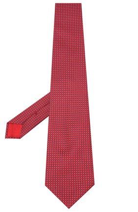 Мужской шелковый галстук BRIONI красного цвета, арт. 062H00/09438 | Фото 2