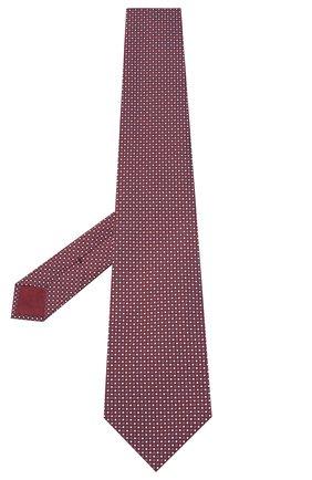 Мужской шелковый галстук BRIONI бордового цвета, арт. 062H00/09426 | Фото 2