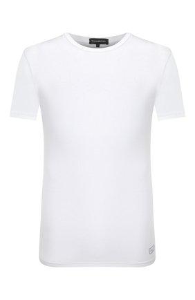 Мужские футболка ERMENEGILDO ZEGNA белого цвета, арт. N3M201090   Фото 1
