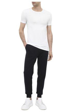 Мужские футболка ERMENEGILDO ZEGNA белого цвета, арт. N3M201090   Фото 2