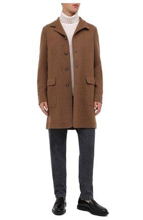 Мужские кожаные пенни-лоферы HOGAN черного цвета, арт. HXM3930X2306Q6 | Фото 2