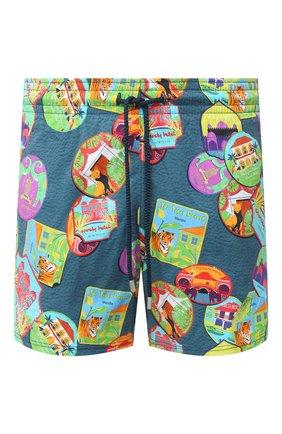 Мужские плавки-шорты VILEBREQUIN разноцветного цвета, арт. MSOU0F03/342 | Фото 1 (Материал внешний: Синтетический материал; Кросс-КТ: Пляж)