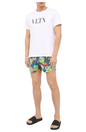 Мужские плавки-шорты VILEBREQUIN разноцветного цвета, арт. MSOU0F03/342 | Фото 2 (Материал внешний: Синтетический материал; Кросс-КТ: Пляж)