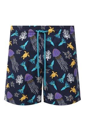 Мужские плавки-шорты VILEBREQUIN темно-синего цвета, арт. MOOU0B08/318 | Фото 1