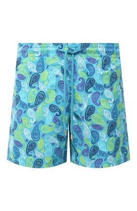 Мужские плавки-шорты VILEBREQUIN голубого цвета, арт. MOOU0B10/304 | Фото 1