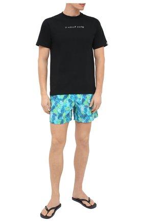 Мужские плавки-шорты VILEBREQUIN голубого цвета, арт. MOOU0B10/304 | Фото 2