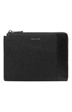 Мужская кожаный клатч eisner BALLY черного цвета, арт. EISNER/00 | Фото 1 (Материал: Натуральная кожа)