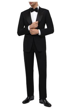 Мужской шерстяной смокинг TOM FORD черного цвета, арт. Q22R12/21RP48 | Фото 1