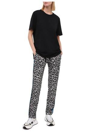 Женские хлопковые брюки DOLCE & GABBANA разноцветного цвета, арт. FTBR8T/HS7B0 | Фото 2