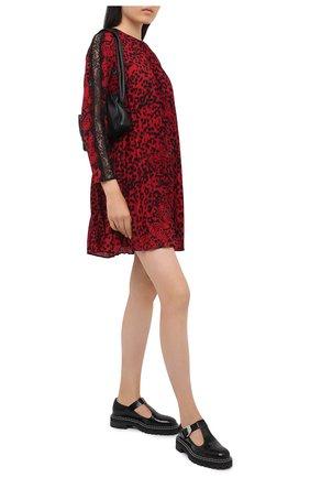 Женское платье REDVALENTINO красного цвета, арт. UR3VAR50/56B | Фото 2