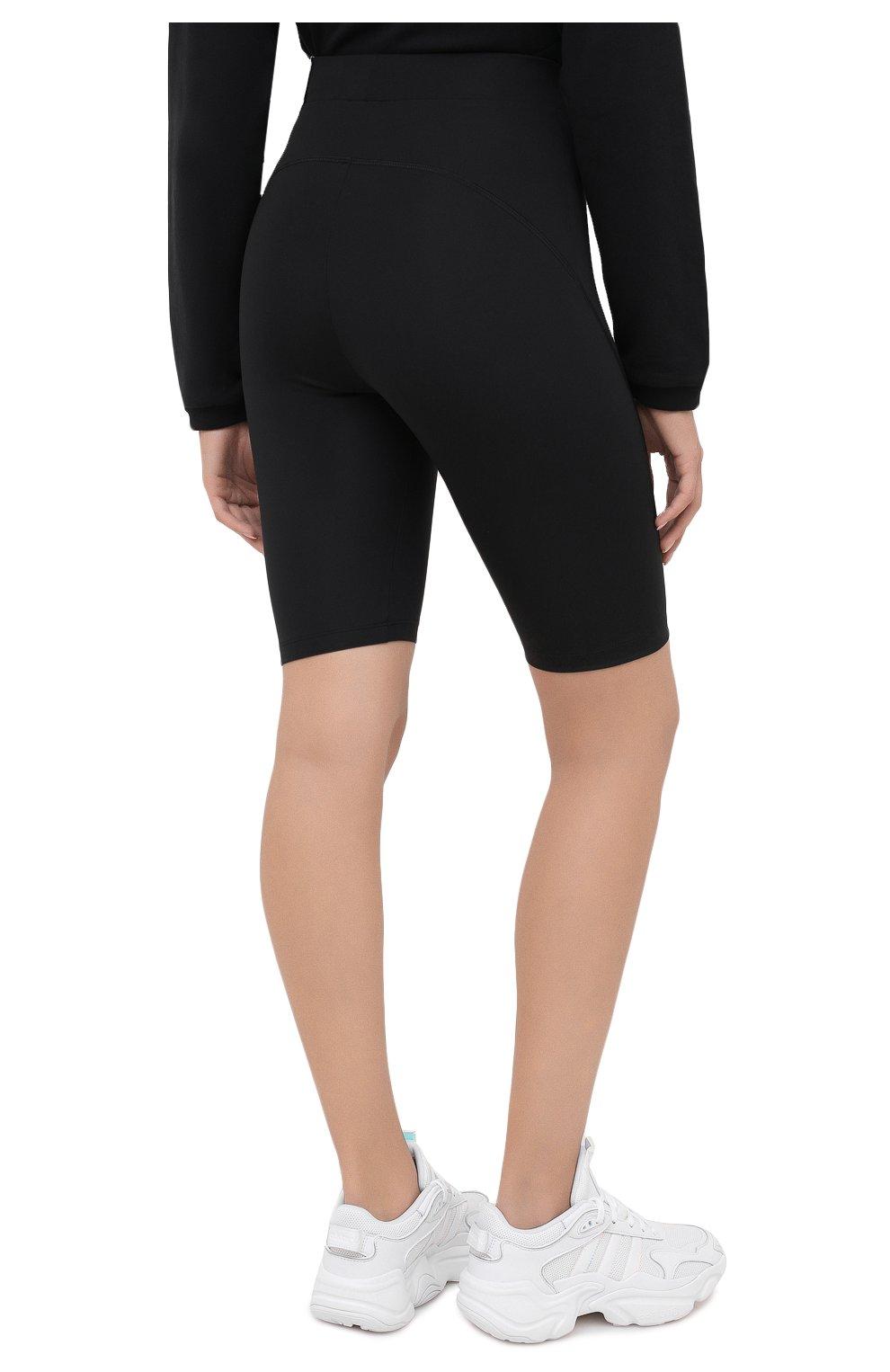 Женские шорты ADIDAS ORIGINALS черного цвета, арт. GD3882 | Фото 4 (Длина Ж (юбки, платья, шорты): Мини; Кросс-КТ: Спорт)