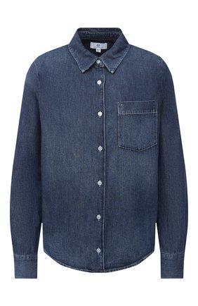 Женская джинсовая рубашка AG синего цвета, арт. CDM70880/NUCS   Фото 1