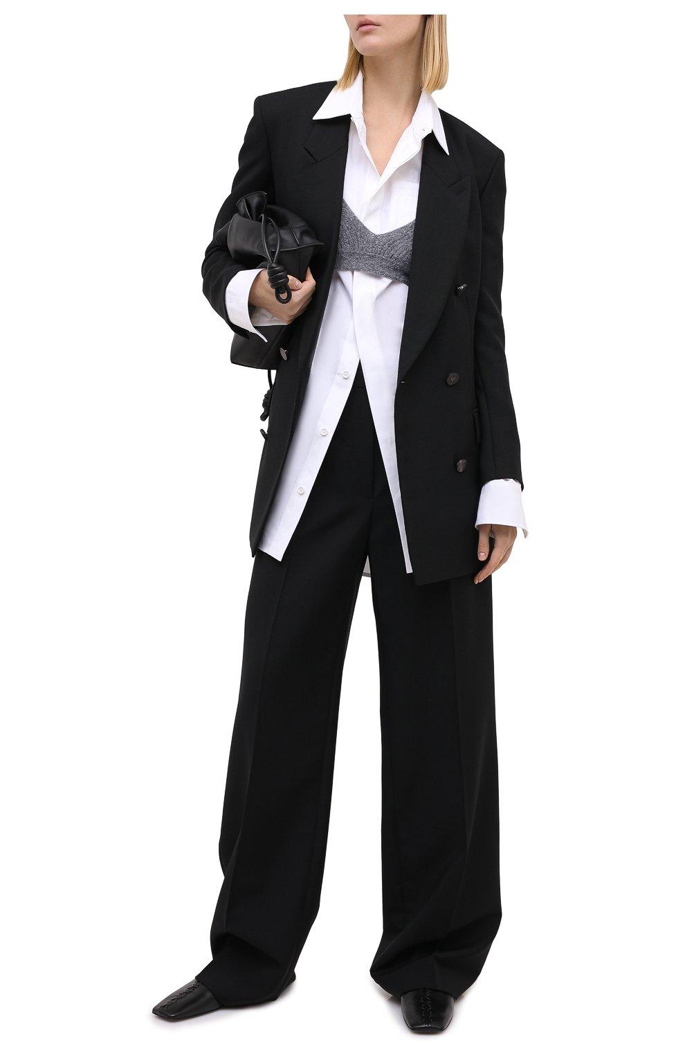 Женский шерстяной топ DOROTHEE SCHUMACHER серого цвета, арт. 914102/MAXIMAL S0FTNESS | Фото 2