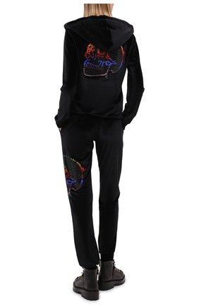 Женский кардиган PHILIPP PLEIN черного цвета, арт. F20C WJB1287 PJO002N | Фото 2