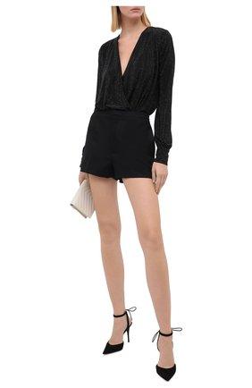 Женское боди PHILIPP PLEIN черного цвета, арт. F20C WRK0203 PTE003N | Фото 2
