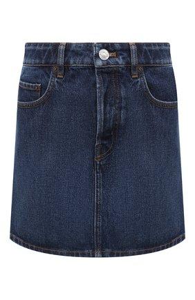 Женская джинсовая юбка BALENCIAGA синего цвета, арт. 626000/TDW14 | Фото 1