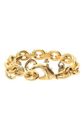 Женский браслет SAINT LAURENT золотого цвета, арт. 632093/Y1500 | Фото 2