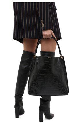 Женский сумка tag SAINT LAURENT черного цвета, арт. 635266/1300W | Фото 2